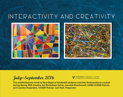 Interactivity and Creativity [Art Exhibit 2016]