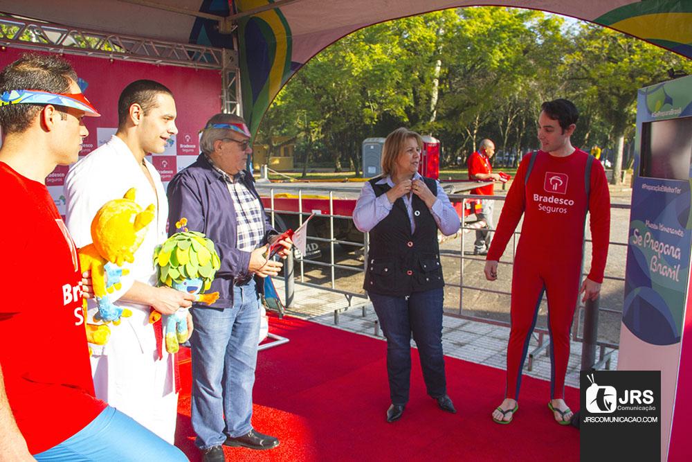 Bradesco Seguros traz espírito olímpico a Porto Alegre