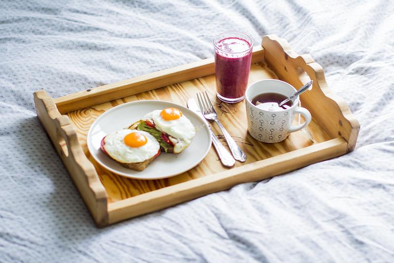Frokost på sengen