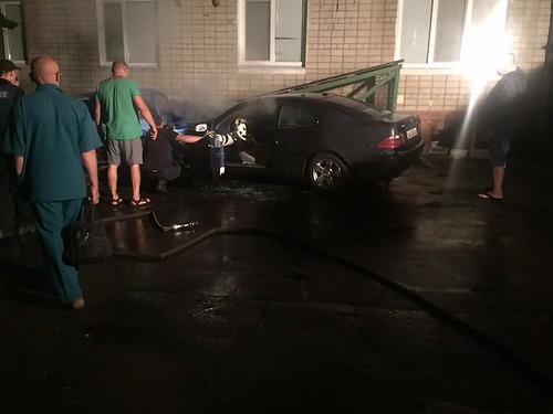 «Рулі» спалили авто