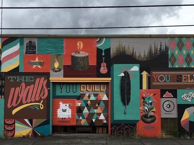 Alberta Arts District mural Portland, Oregon