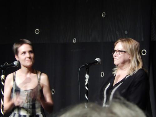 Una Lorenzen and Trisha Malcolm
