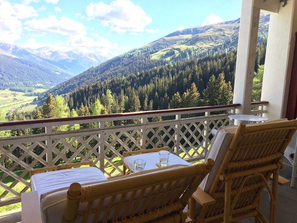 Schatzalp Hotell Davosissa