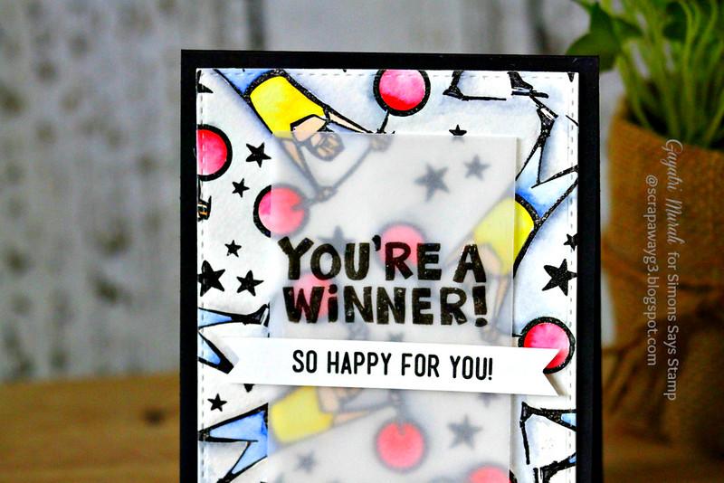 You're a winner closeup