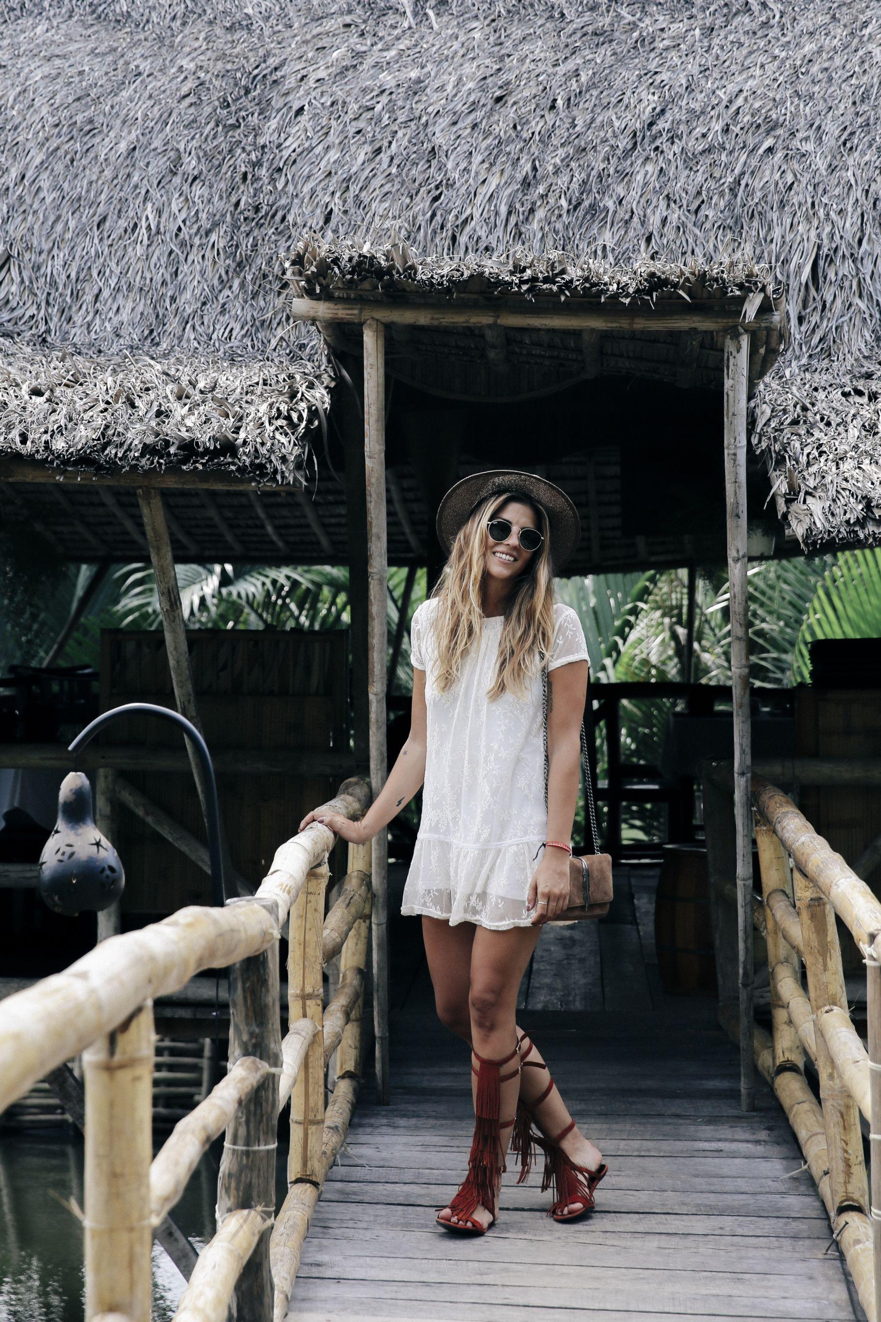 outfit look primavera spring street style trendy taste verano summer vestido dress sandalias  sandals gafas sunglasses_27