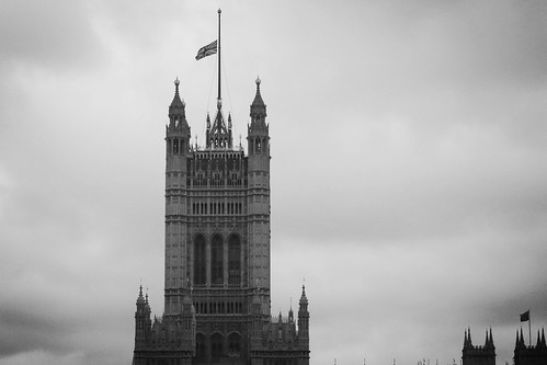 Westminster flags lowered for Jo Cox