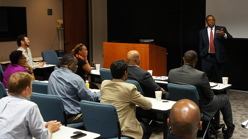 Dr. Verret Addresses New Faculty