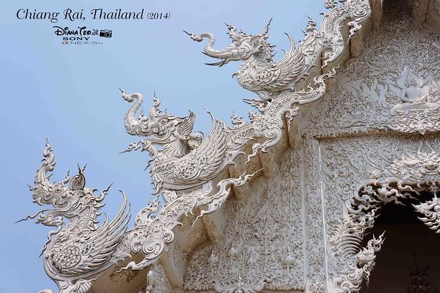 Thailand - Chiang Rai Wat Rong Khun 07