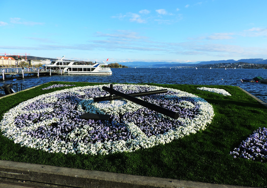 Festival Of Flowers: Lake Zurich, Switzerland