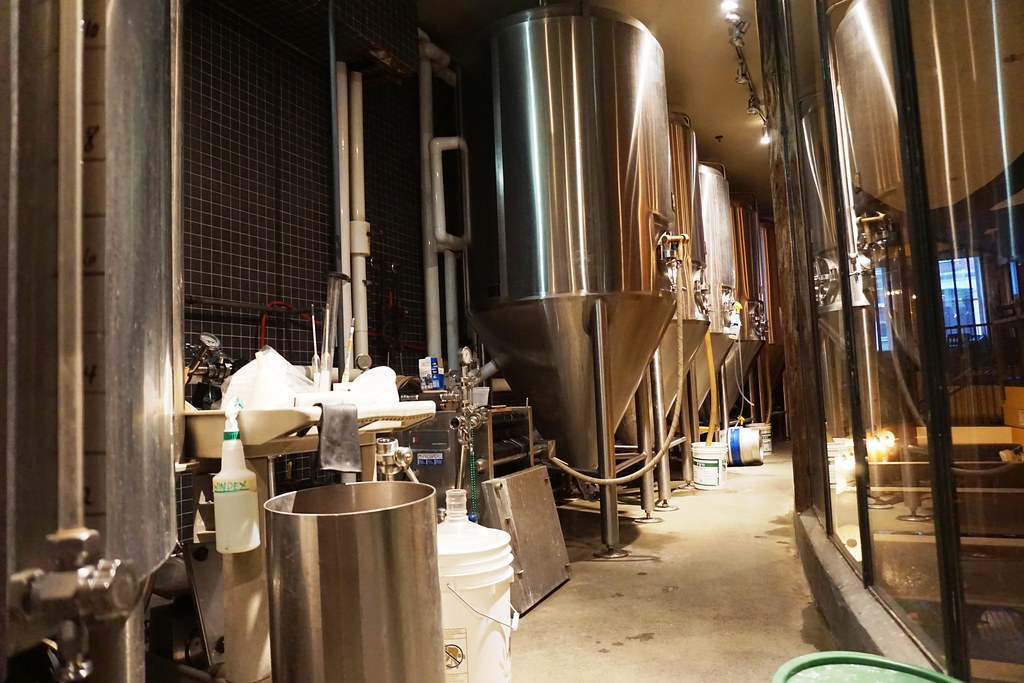 Brewing Operation is on the Second Floor at 2nd Story Brewing Company, Philadelphia, June 2016