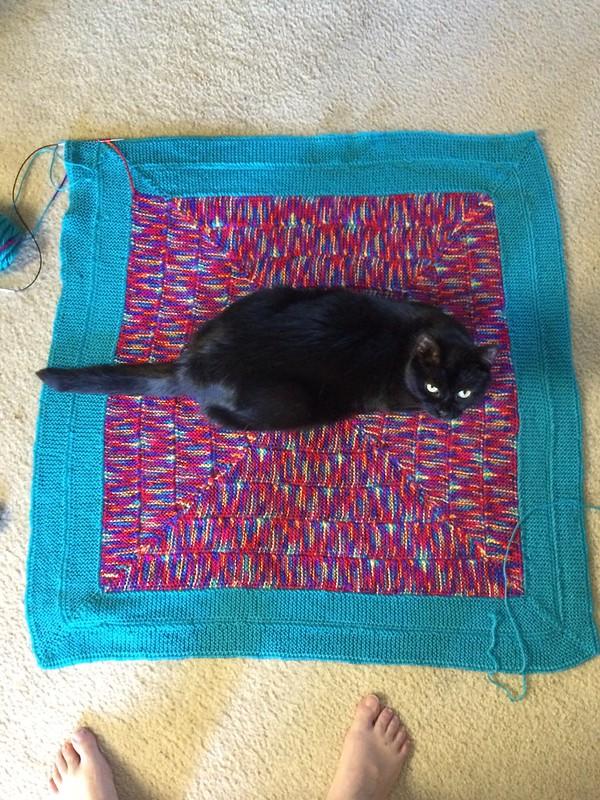 10 stitch baby blanket