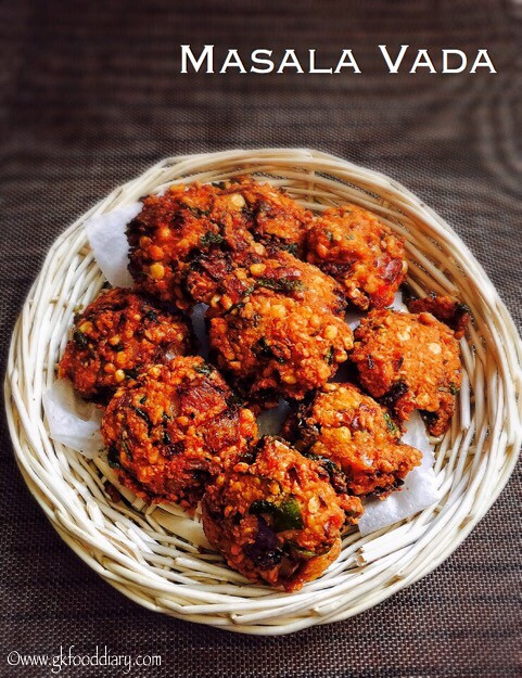 Masala Vada Recipe for Toddlers and Kids1