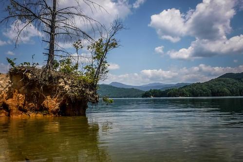 Lake Jocassee Kayaking-117