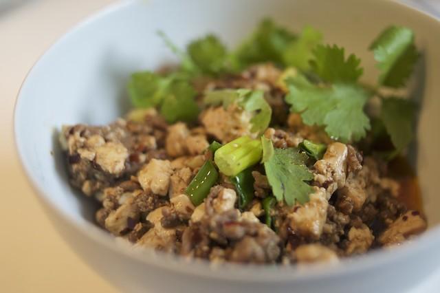 Recipe for Quick & Easy Mapo Tofu - DSC_4405