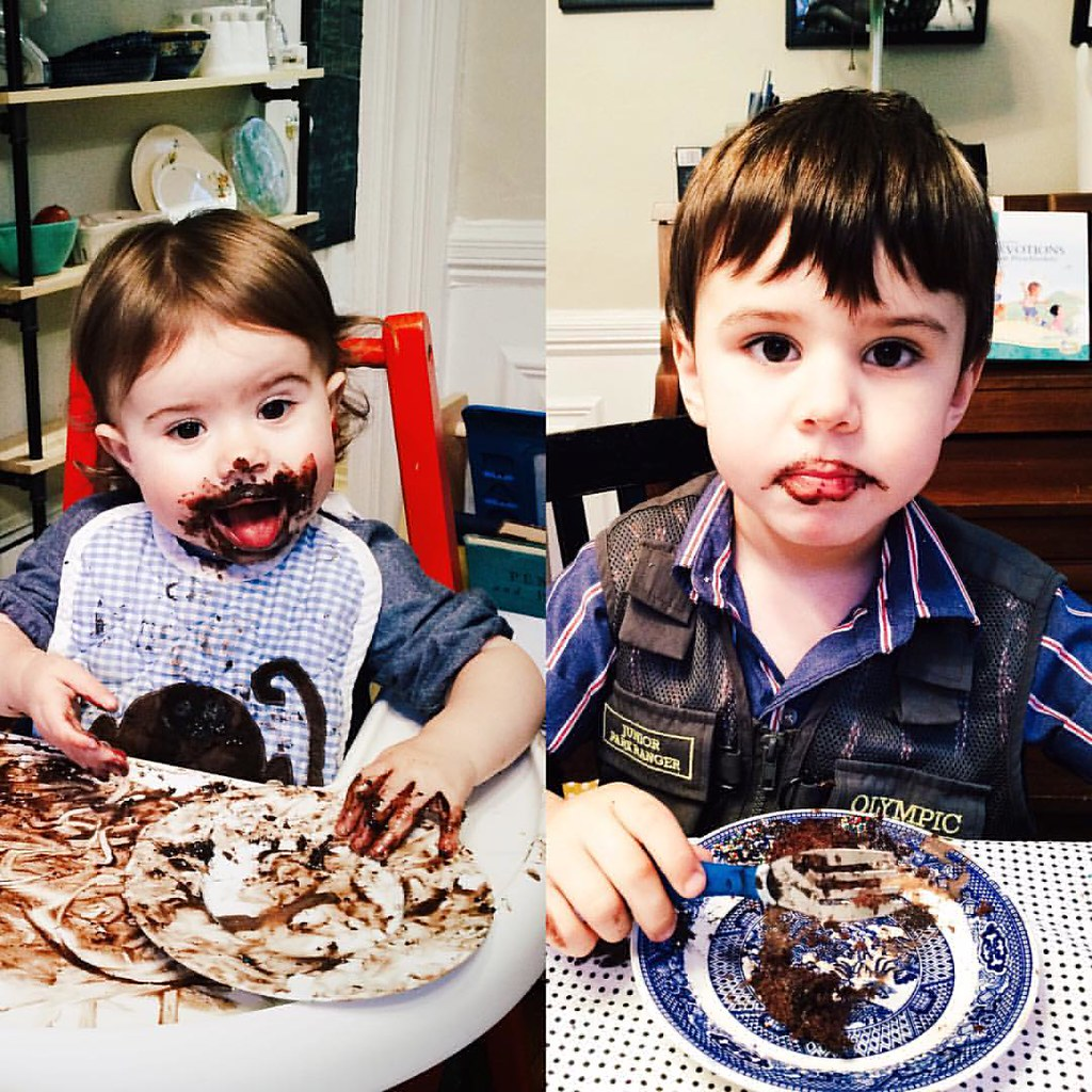 Let them eat cake. #instaluther #instasinclair #happybirthday #children #childhood