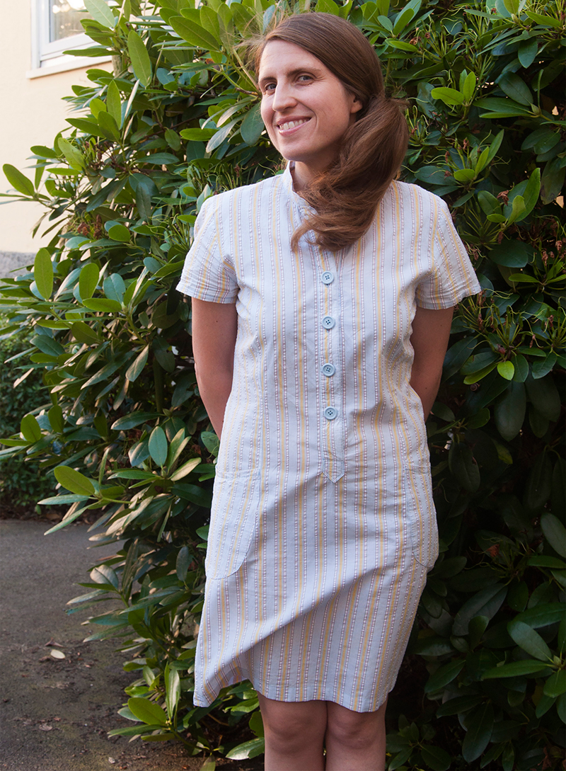 Burdastyle shirt dress