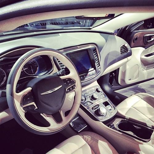 2015 Chrysler 200 Interieur @ NAIAS 2014 ... #naias #naias
