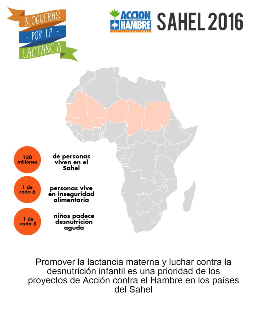 blogueras por la lactancia - sahel - madresfera - acción contra el hambre