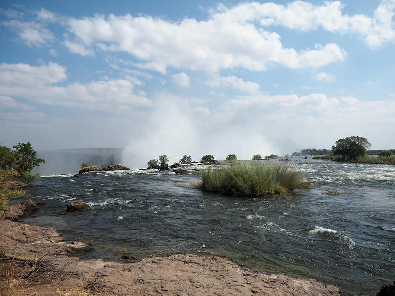 Zambezi River and Victoria Falls in Zambia