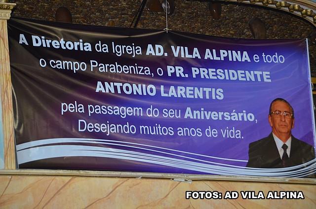Aniversário Pastor Antonio Larentis 2016