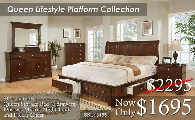 Queen Lifestyle Platform 3185