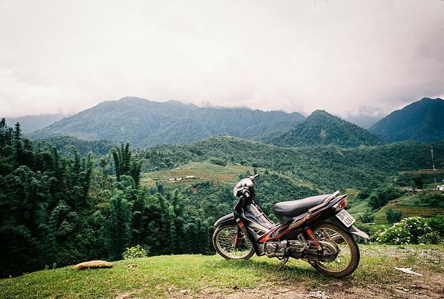 Vietnam motorbike trip.