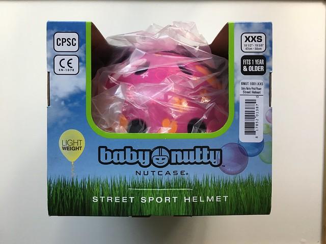 安全帽包裝@美國Nutcase彩繪安全帽寶寶系列