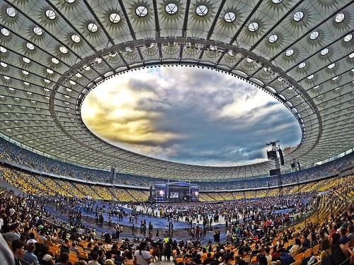 Kiev,Olympic Stadium
