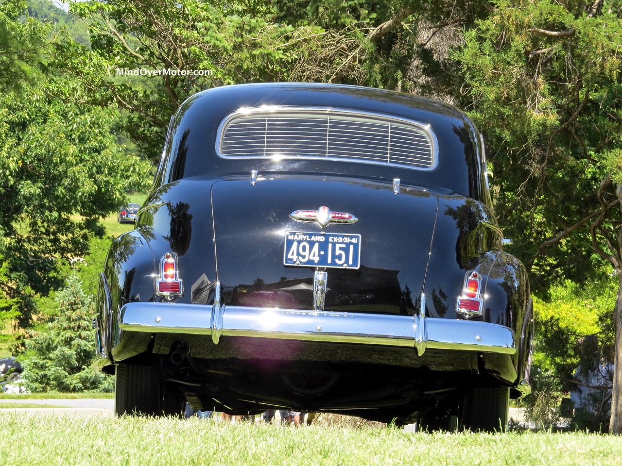 1941 Buick Limited Rear