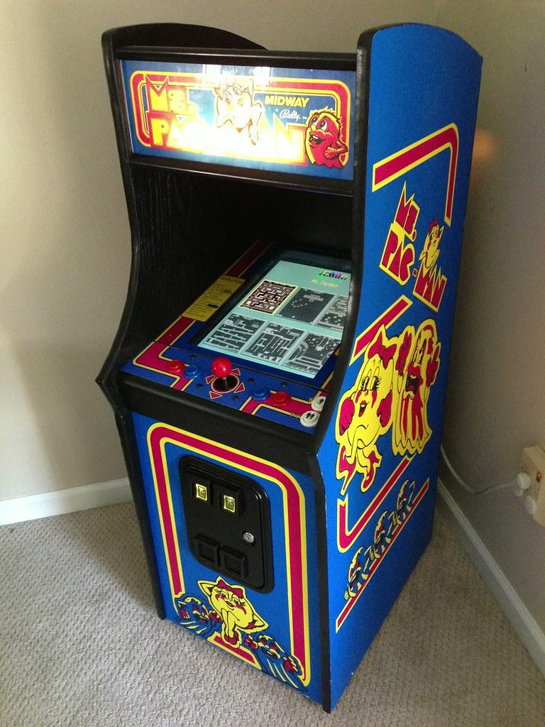 Ms Pac Man Mini Arcade Cabinet Flickr Photo Sharing