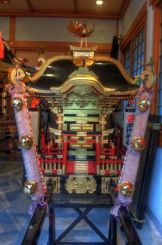 'Mikoshi' at Hokumon Shrine, Wakkanai on JUL 04, 2016 (7)