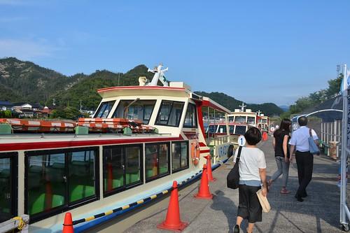浦富海岸観光船