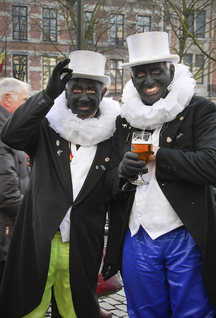 Charity fundraising parade - The Noirauds, Brussels
