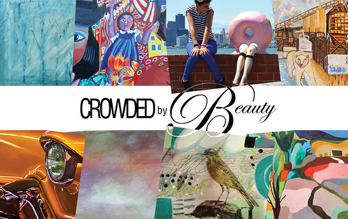 Postcard _ Crowded by Beauty, McGuire Real Estate, Berkeley, June 2016