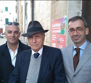 Il Vice Presidente Corte Costituzionale prof. Paolo Maddalena e l'economista Davide Stirelli