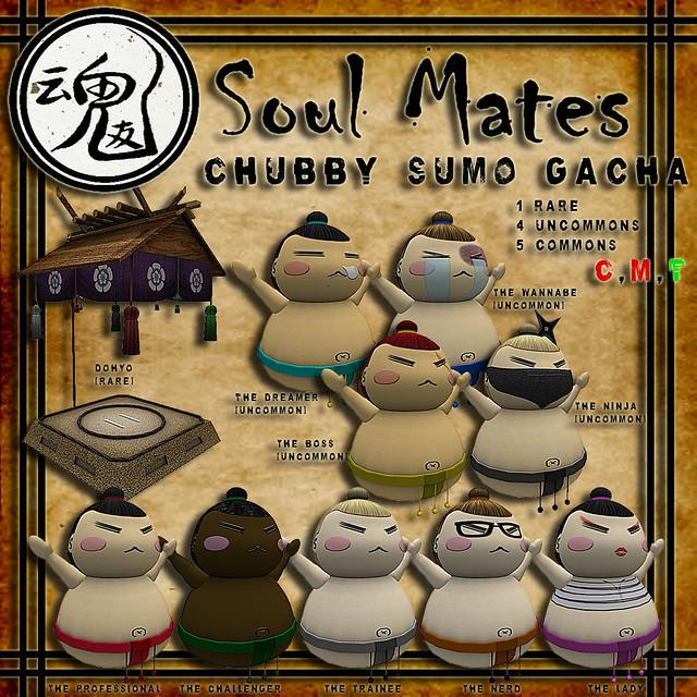 [Soul Mates] Chubby Sumo Gacha Ad
