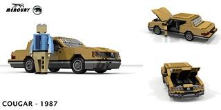 Mercury Cougar XR-7 Coupe 1987