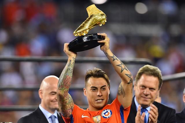 Copa América Centenario: Eduardo Vargas Golden Boot