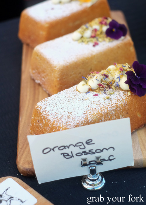 Orange blossom from The Bakehouse Co at the Canterbury Foodies and Farmers Market, Sydney