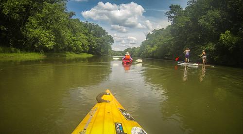 Kayaking and SUP on Saluda Lake-84