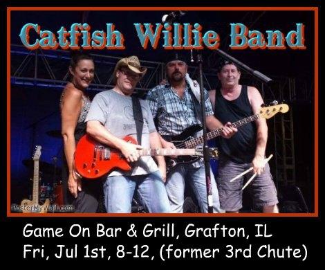 Catfish Willie Band 7-1-16