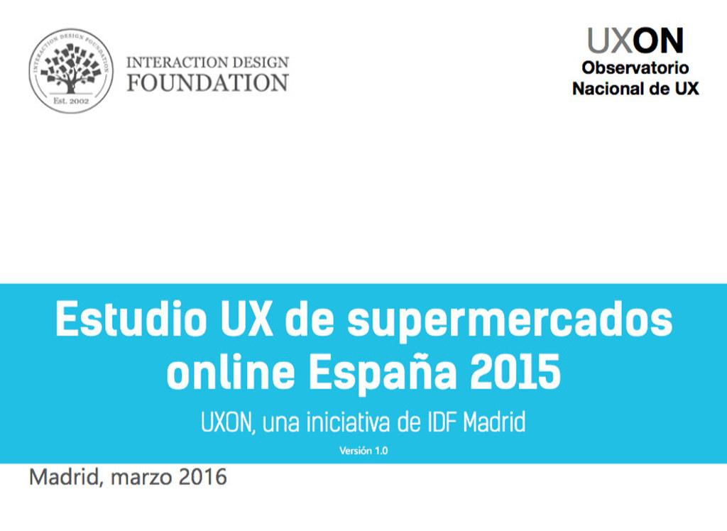 Informe de UX sobre supermercados online España 2015