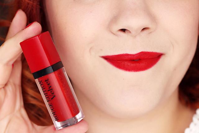 Rouge edition velvet Bourjois - Personne ne rouge