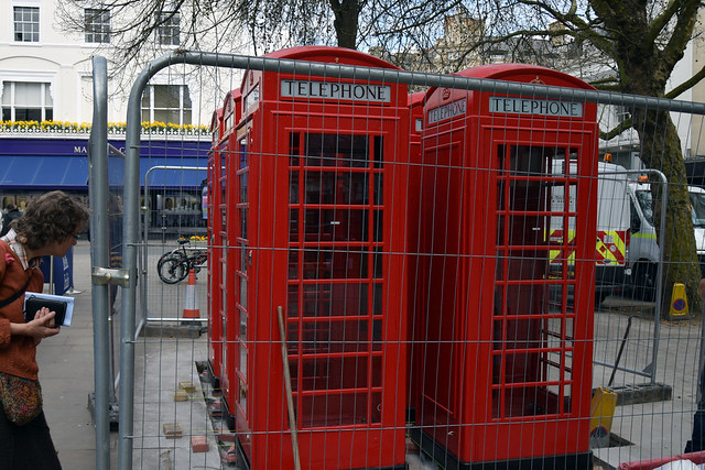Urban design: Promenade phone box refursbishment project