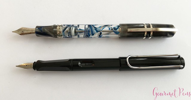 Review Visconti Homo Sapiens London Fog Fountain Pen @AppelboomLaren8
