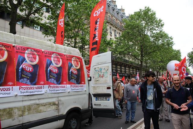 Manifestation du 26 mai 2016 à Paris contre la Loi Travail