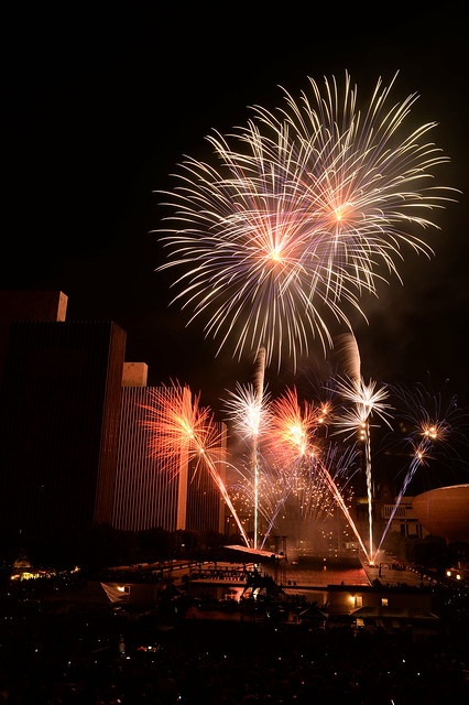 2016-07-04 Empire State Plaza fireworks