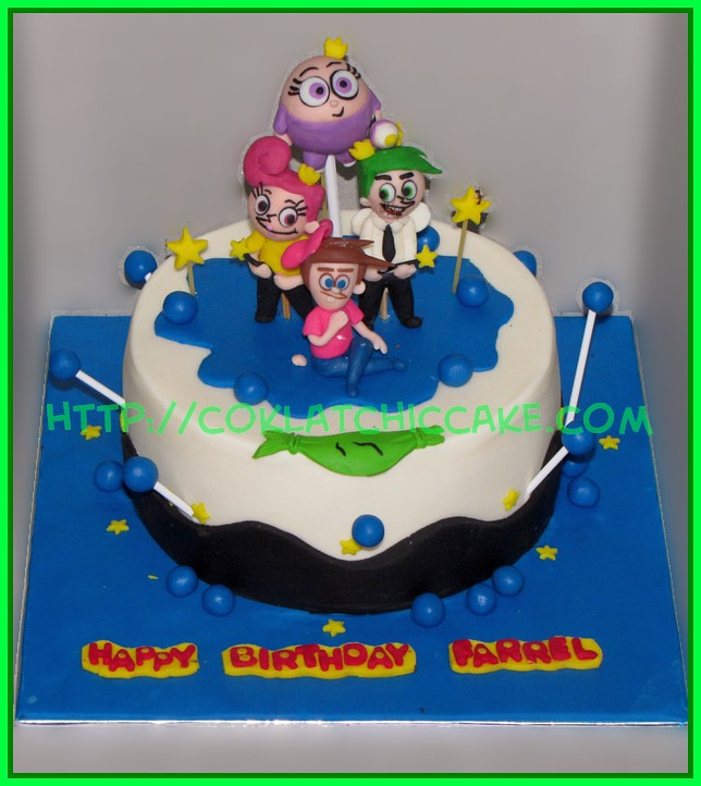 Cake Fairly Odd Parents