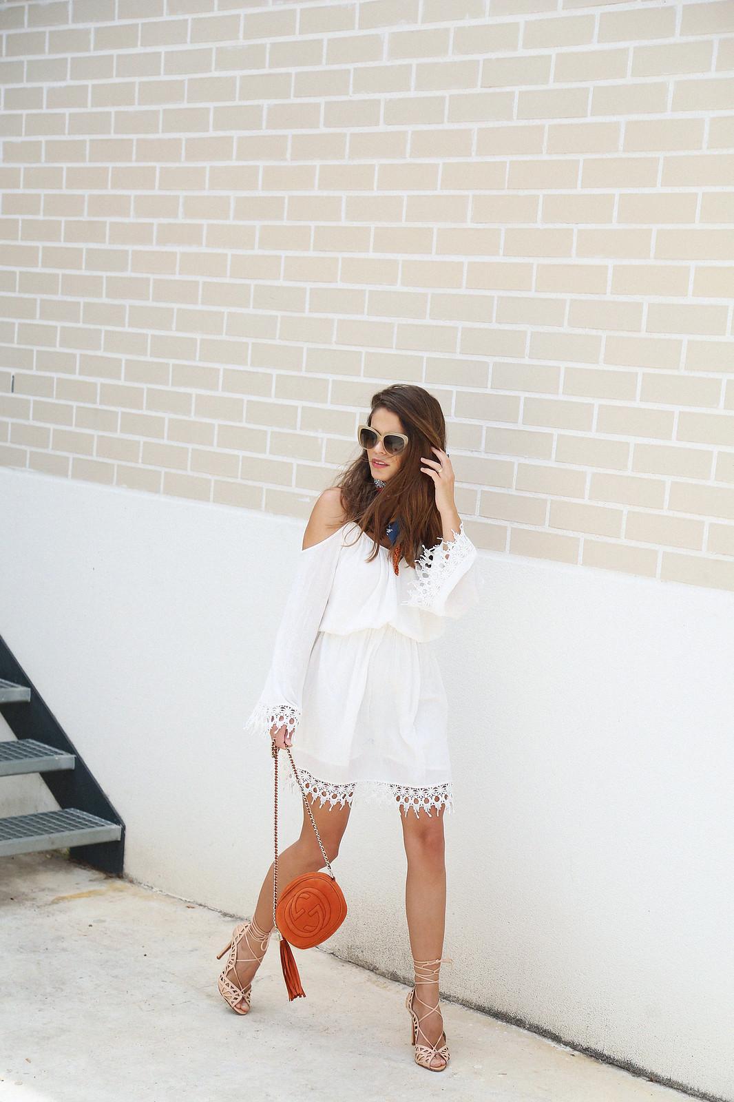 jessie chanes seams for a desire white off shoulders dress schutz sandals-6