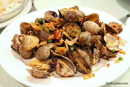 House Special Spicy Clams 避風塘炒蜆
